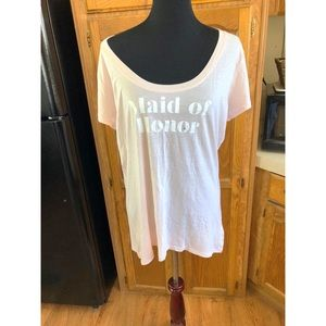 NWT Express Maid of Honor Top XL